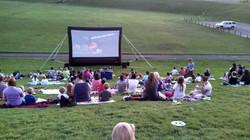 18' Cinema in the park
