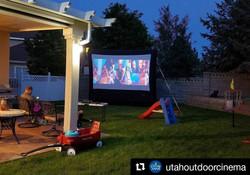 14' Cinema in the Backyard