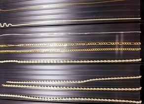 Os melhores materiais e acabamentos para correntes de metal