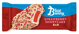 Blue Bunny Strawberry Shortcake Bar