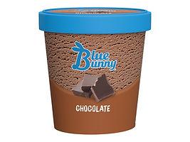 blue Bunny Chocolate