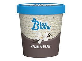 Blue Bunny Vanilla Bean