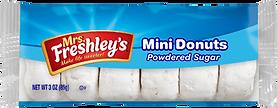 Mrs. Freshley's powdered donuts