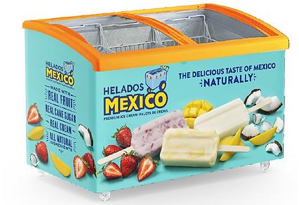 Helados Mexico Freezer