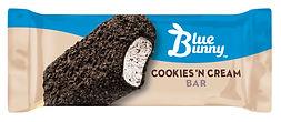 Blue Bunny Cookies N Cream Bar