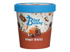 Blue Bunny Bunny Tracks