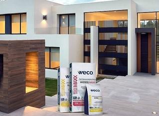 Weco® W2000 MAXX™, el mejor pegamento para instalaciones exteriores.