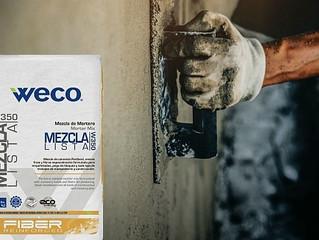 Construye seguro con la Mezclalista W-350 de Weco