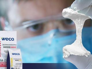 W2000 MAXX™ de Weco®, una pega flexible para exteriores.
