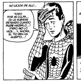 Spiderman. Un adiós a Stan Lee. Colaboración de Sergio Corvillo.