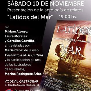 """Presentación de la antología """"Latidos del Mar"""""""