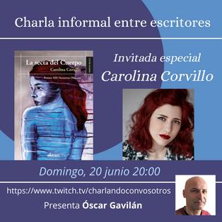 """Directo sobre mi novela """"La secta del Cuerpo"""" con Óscar Gavilán."""