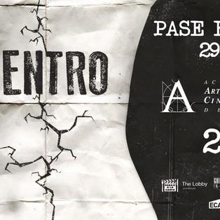 """Estreno del corto """"Dentro"""" y pase especial en la Academia de Cine"""