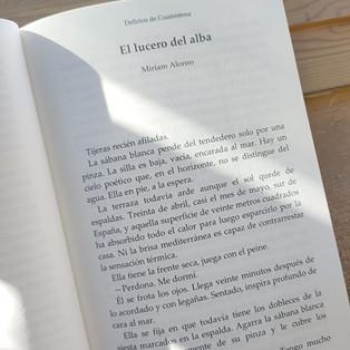 Delirios de Cuarentena. Entrevista a Miriam Alonso.