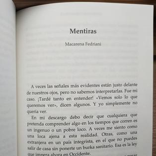 Delirios de Cuarentena. Entrevista a Macarena Fedriani.