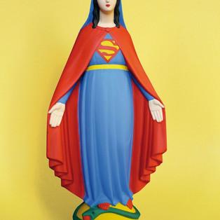 """Héroes en la ficción. La Virgen María y Wonder Woman. Comic-trailer de """"Virgo. Milagro I""""."""