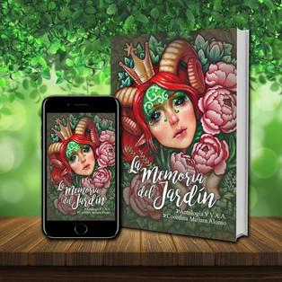 """Antología """"La memoria del jardín"""", 16 de noviembre en Amazon"""