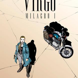 """Publicación del cómic """"Virgo. Milagro I"""" en Comixology."""