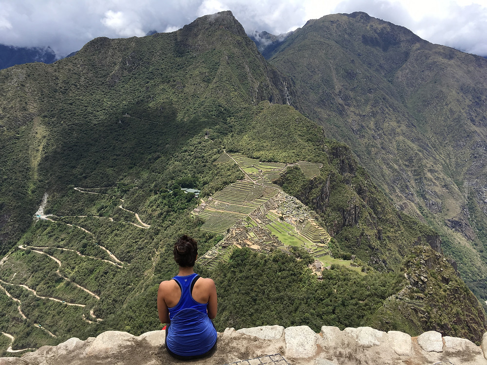 View from Huayna Picchu