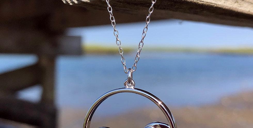 Blue wave Necklace