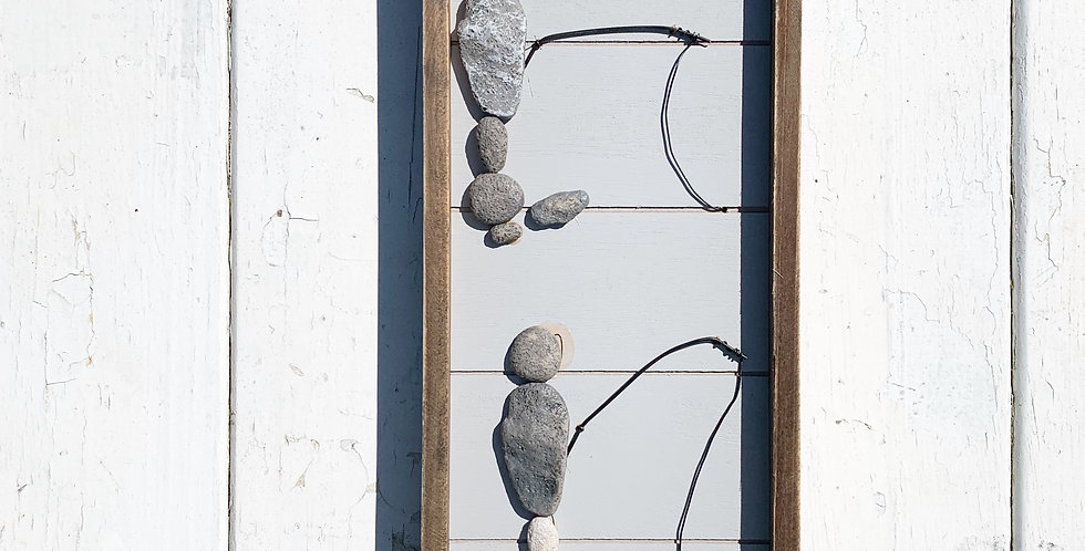 Wood Framed Art - Fishing