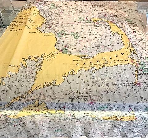 Cape Cod Map Scarf