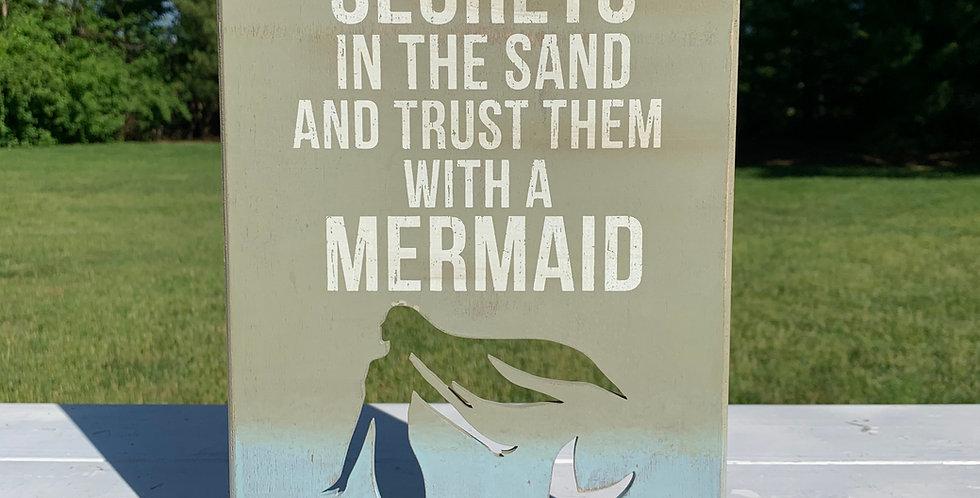 Box Sign - Mermaid