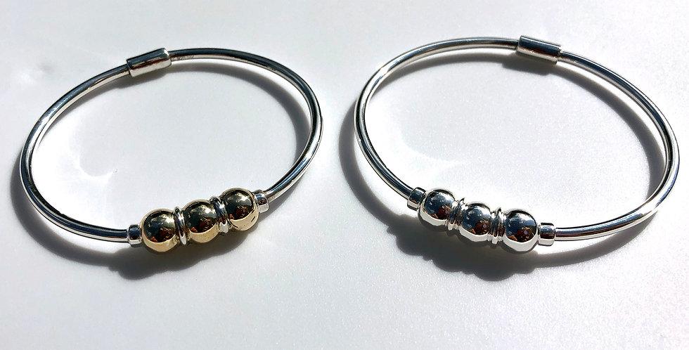 Cape Cod Classic Three Ball Bracelet