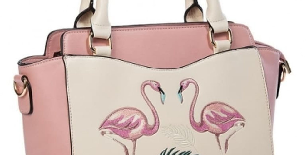 Flamingo Hand Bag