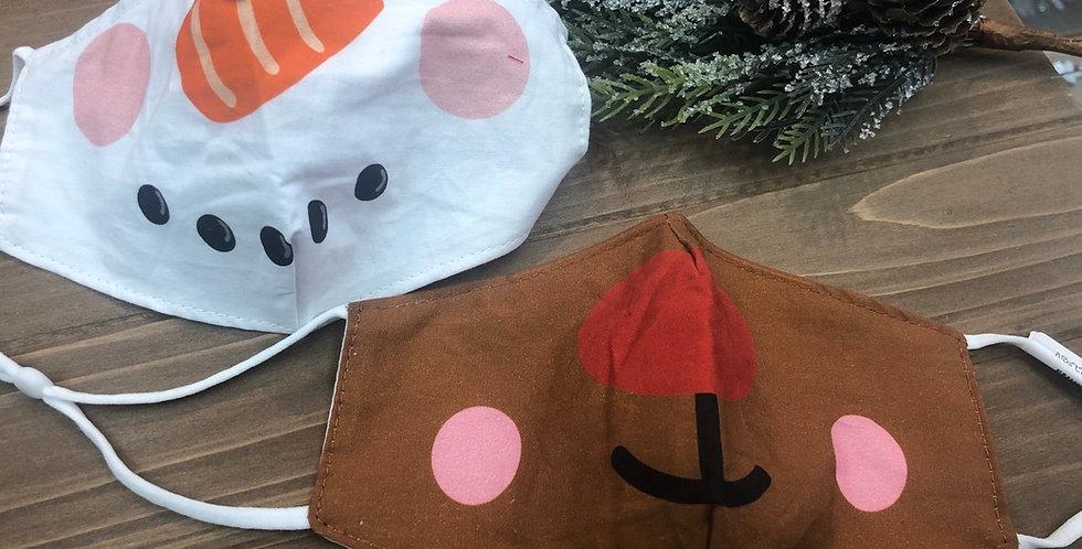 Kids holiday masks