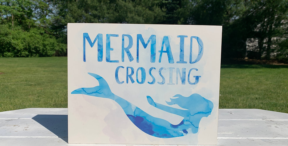 Wall Sign - Mermaid