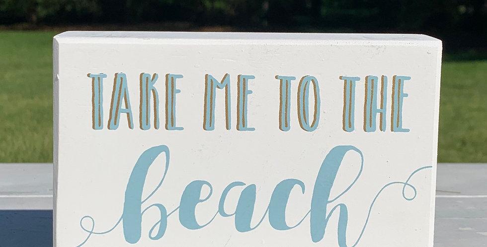Box Sign - Beach