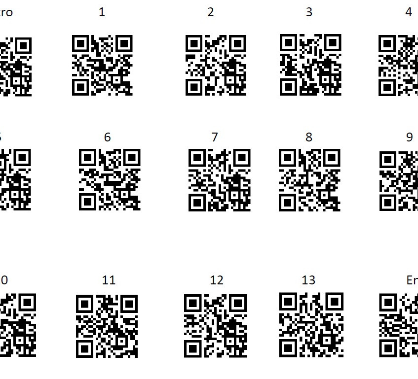 Walking Tour QR Codes