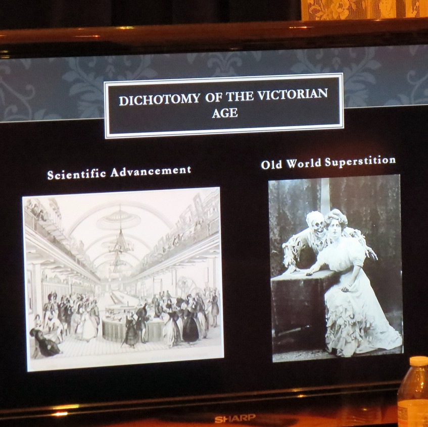 Despite new science discoveries the Victorian age had many customs we no longer practice  about funerals.