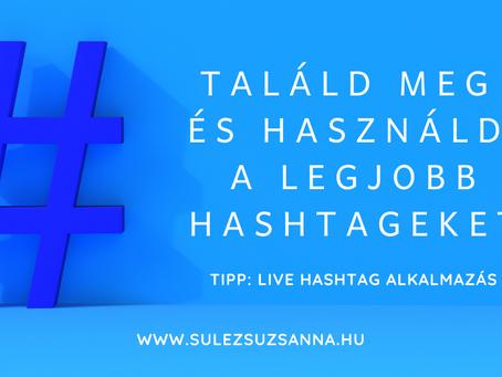 Top hashtag kereső alkalmazás