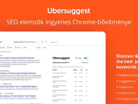 SEO elemzők ingyenes Chrome-bővítménye