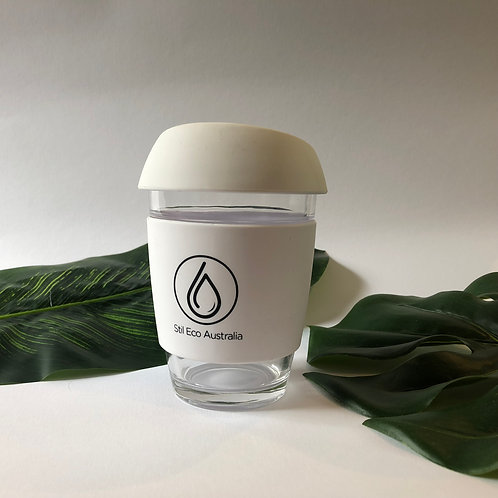 Reusable Coffee Cup White 12oz (Large)