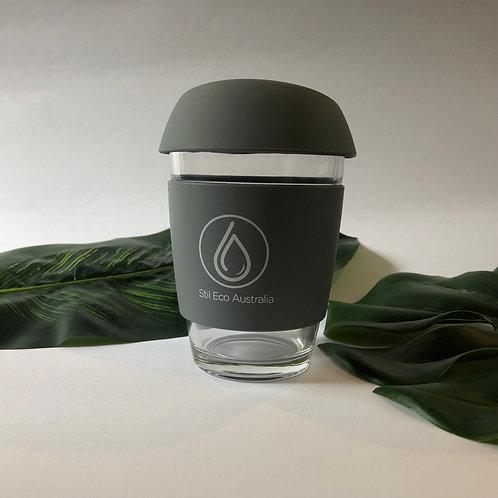 Reusable Coffee Cup Grey 12oz (Large)