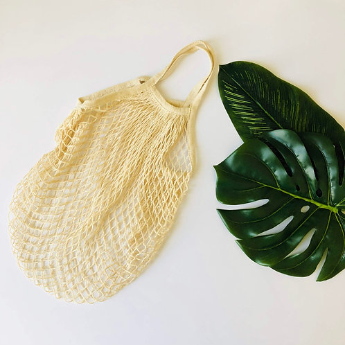 Organic Cotton Mesh Market Bag