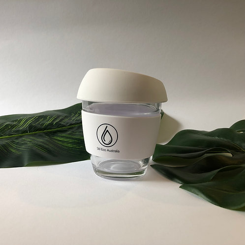 Reusable Coffee Cup White 8oz (Small)