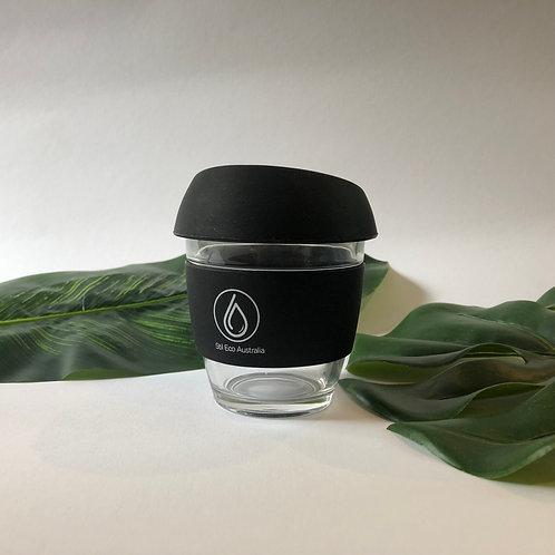 Reusable Coffee Cup Black 8oz (Small)