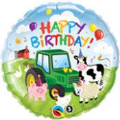 "18"" Birthday Foil Balloon Farm"