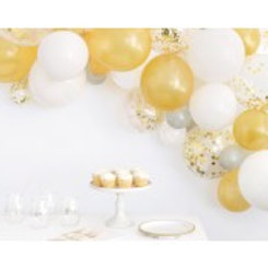 Assorted Solid and Foil Confetti Latex Balloon Arch Kit