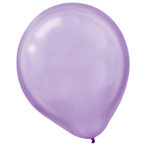 11 in Lavender Pearl latex balloon