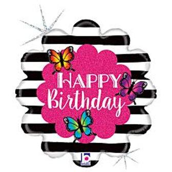 """18"""" foil Balloon Butterfly"""