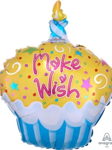 "18"" foil Balloon Cupcake"