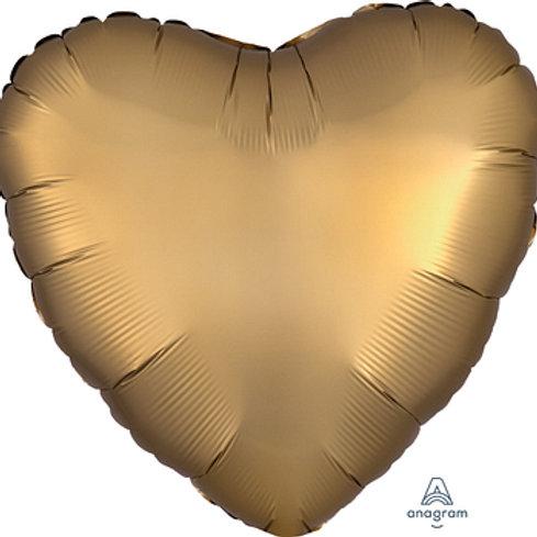 "18"" foil Balloon satin gold"