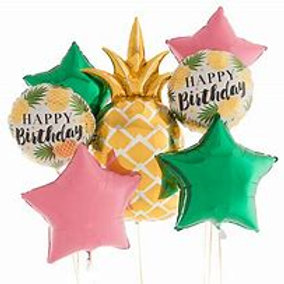 Pineapple Balloon Bouquet #76
