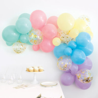 Pastel Balloon Arch Kit 40pc Assortment