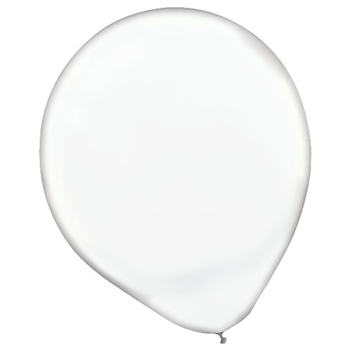 11 in clear latex balloon